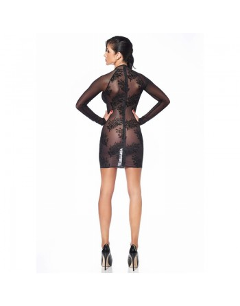 Agniezka Fishnet Dress