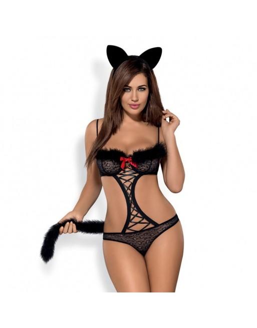 Gepardina Costume modulable - Noir