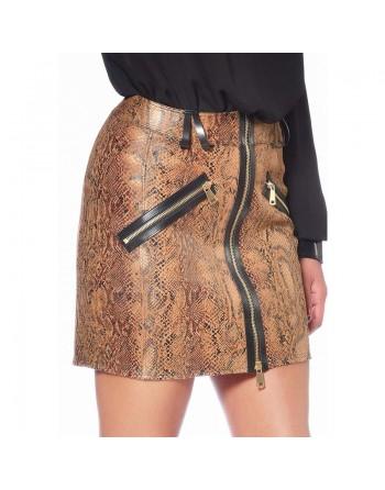 Ann Snake print Skirt