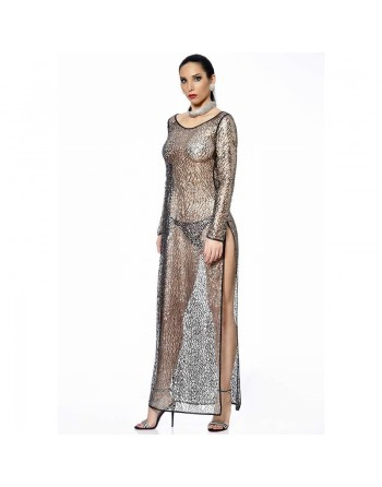 Enza Silver Dress