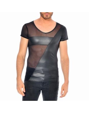 Santor Wetlook fishnet t-shirt