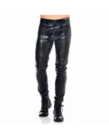 Daario Wetlook and vinyl pants