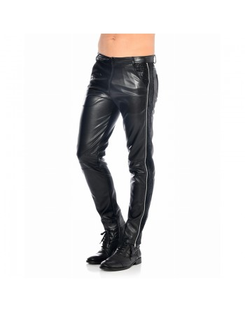 Jayden Zip pants in leather...