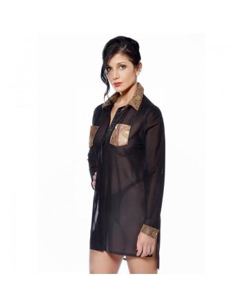 Veronika Fishnet shirt