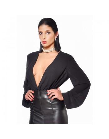 Violeta Transparent black...