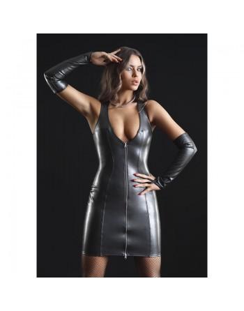 Taylor Robe sexy faux cuir...