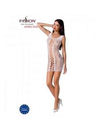 BS073W Dress - White