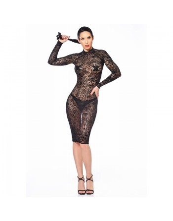 Azia Maori Fishnet Dress