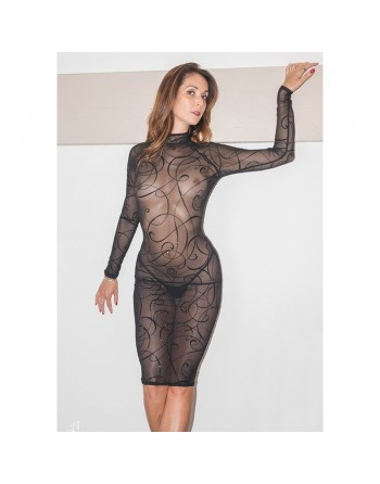Azia Sexy Arabesque Dress