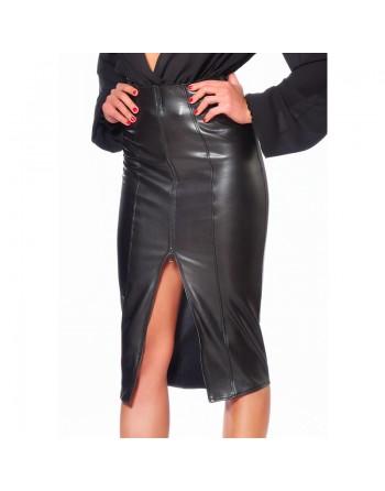 Ornella Sexy faux leather...