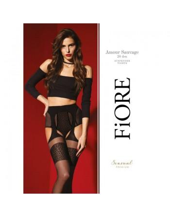 Amour Sauvage Tights 20 DEN - Black - Premium quality