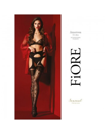 Amorosa Tights 30 DEN - Black - Premium quality