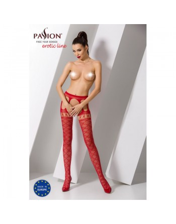 S025R Garter Stocking - Red