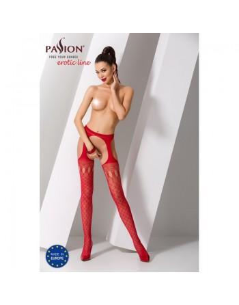 S024R Garter Stocking - Red