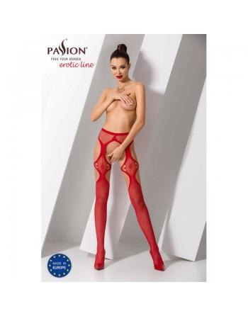 S023R Garter Stocking - Red