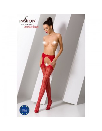S018R Garter Stocking - Red