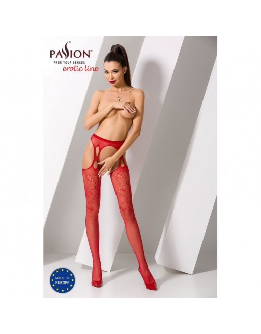S002R Garter Stocking - Red