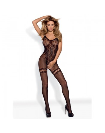 F213 Bodystocking - Black