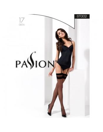 ST002 Stockings 17 DEN - Black