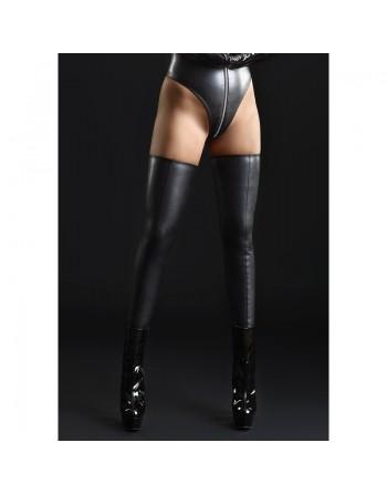 Sicilia Leather look black...