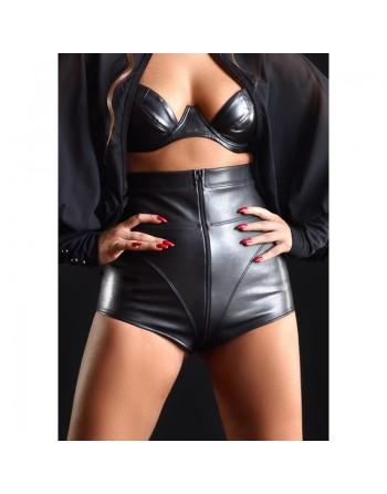 Jenna Faux leather shorts