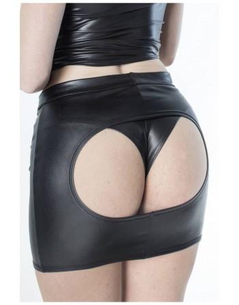 Andrea Open Wetlook Skirt