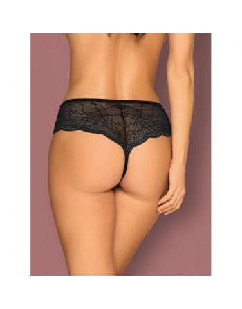 Pearlove crotchless Panty - Black