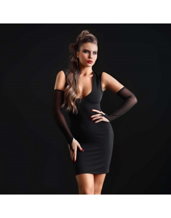 Brittany Robe lycra noir