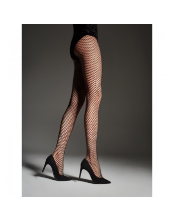 Gilda Fishnet Tights - Black