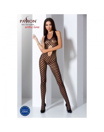 BS065 Bodystocking - Black