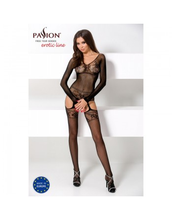 BS055 Bodystocking - Black