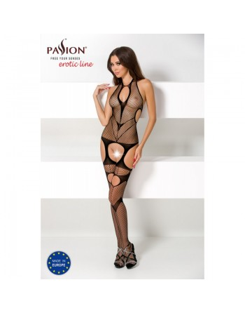 BS053 Bodystocking - Black