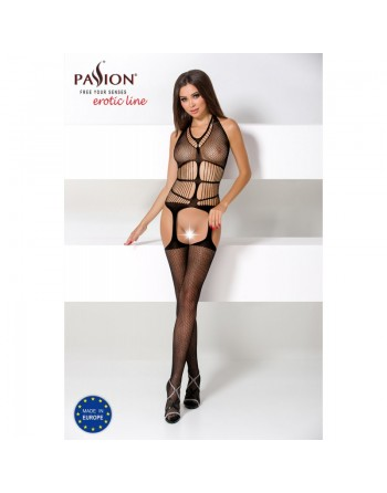 BS049 Bodystocking - Black