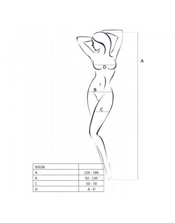BS038a Bodystocking - Noir