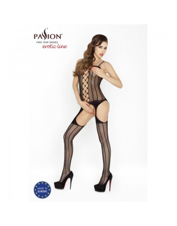 BS023  Bodystocking - Black