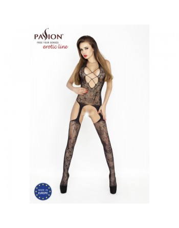 BS017 Bodystocking - Black