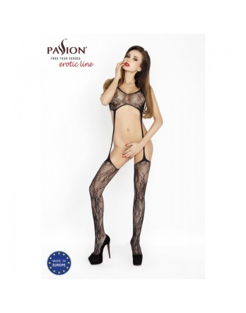 BS016 Bodystocking - Black