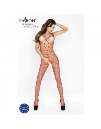 BS014b Bodystocking - Red