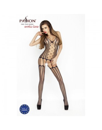 BS013a Bodystocking - Black