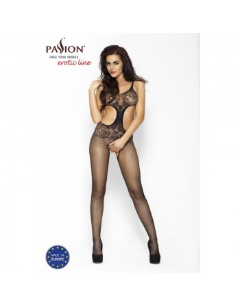 BS004 Bodystocking - Black