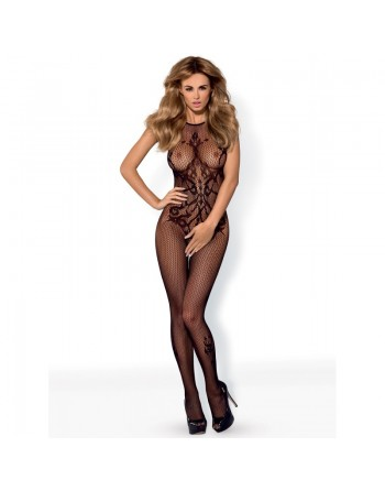G308 Bodystocking - Black