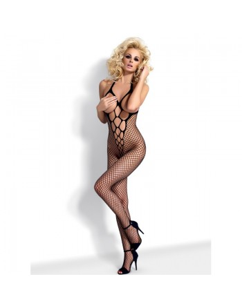 N106 Bodystocking - Black