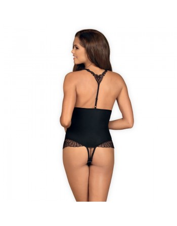 Chiccanta Teddy crotchless - Black