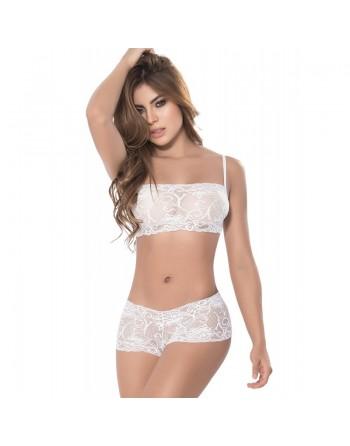 White Lace Set 2 pcs Style 206