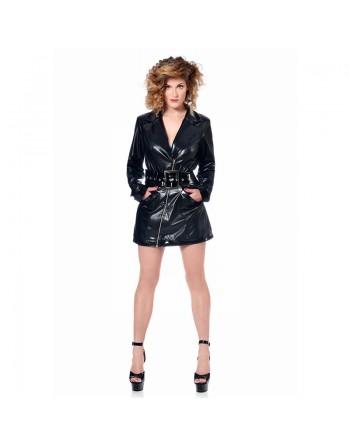 Angela Faux leather dress