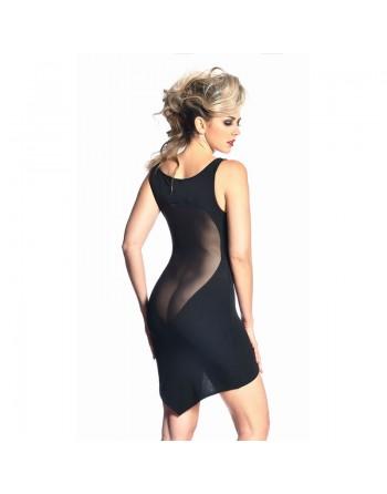 Alvina Sexy black lycra dress