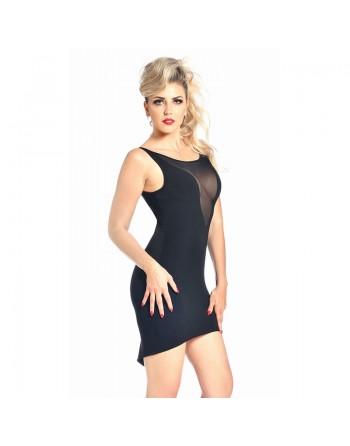 Alvina black lycra dress