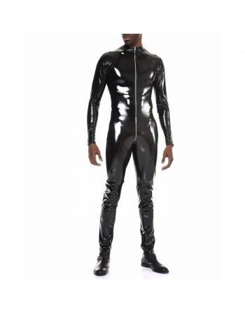 Ross Black vinyle jumpsuit