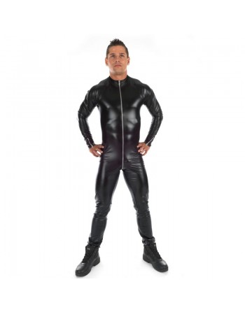 Ross Wetlook black jumpsuit