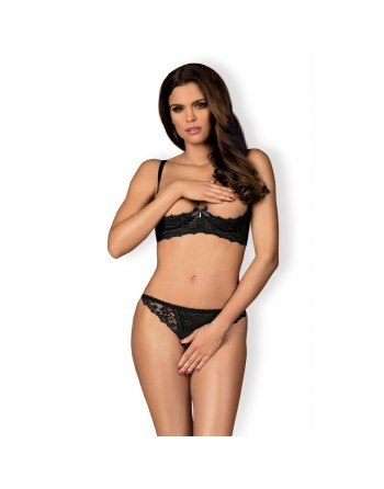 Letica set 2 pcs cupless - black